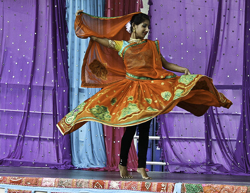 Indian Photograph - Bollywood Twirl by Cathy Brown