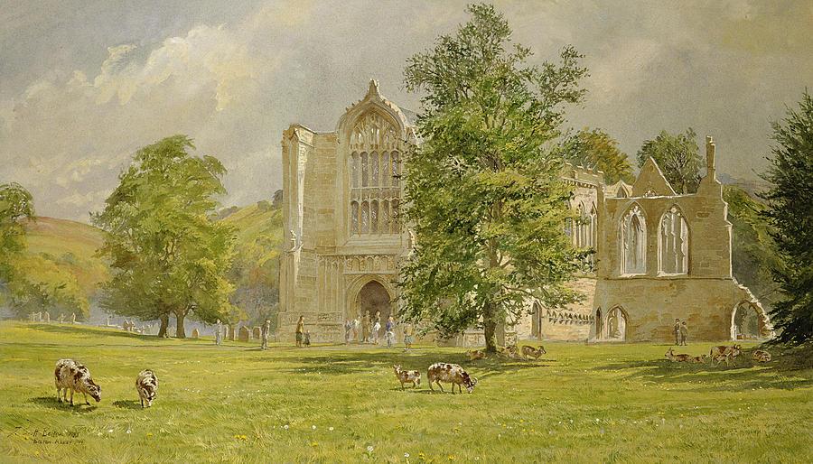 Bolton Abbey Painting - Bolton Abbey  by Tim Scott Bolton