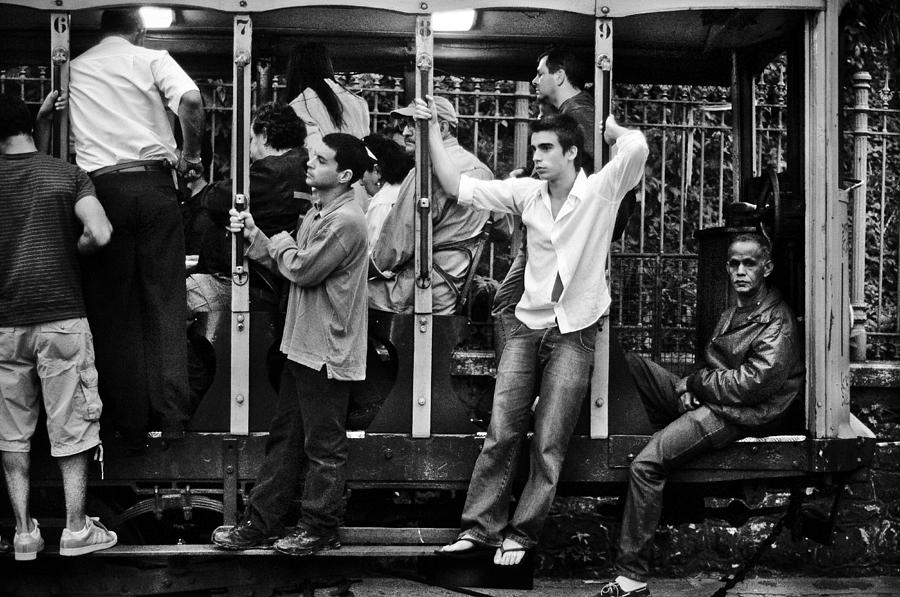 Streetcar Photograph - Bonde by Stefano  Figalo