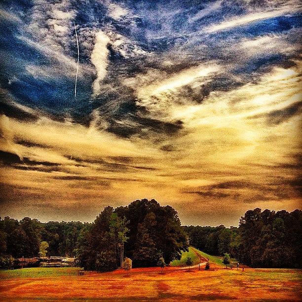 Cloudscape Photograph - Bondpark by Katie Williams
