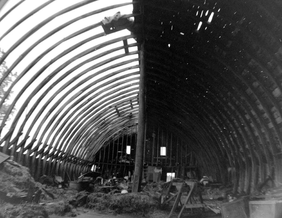 Barn Photograph - Bones Of The Barn by Artist Orange