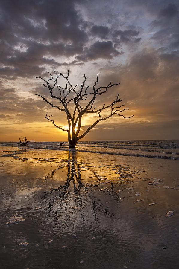 Botany Bay Photograph - Boneyard Sunrise by Joseph Rossbach