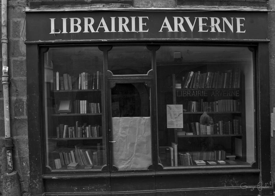 Book Shop Photograph - Book Shop by Georgia Fowler