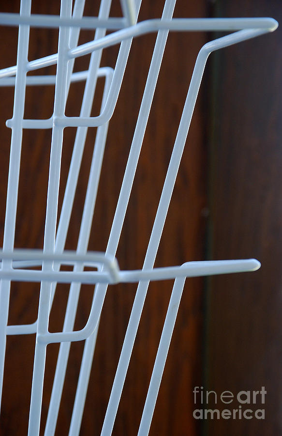 Wire Photograph - Book Stand by Glimpses Prasad Datar-Archana Padhye Photography