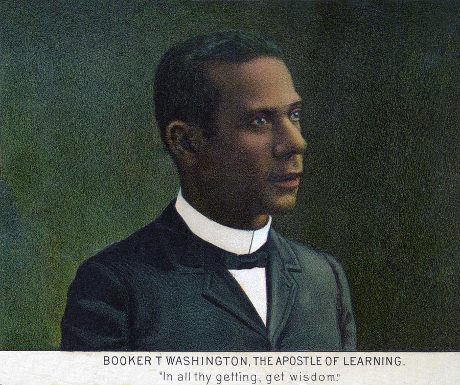 1890s Photograph - Booker T. Washington, Detail by Everett