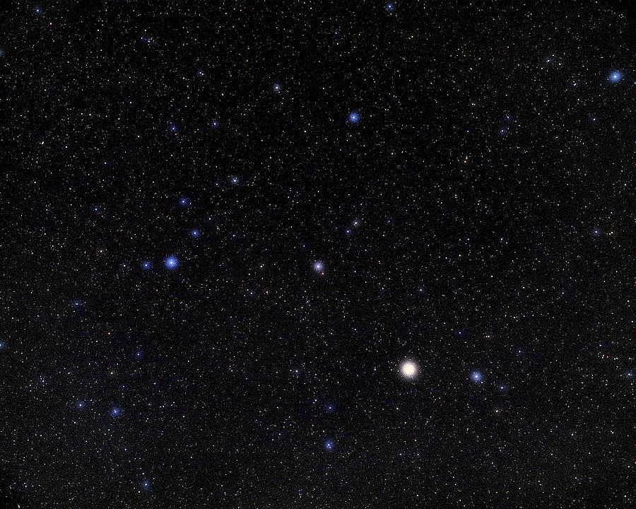 Alphecca Photograph - Bootes Constellation by Eckhard Slawik