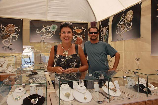 Booth Shot Jewelry by Barbara n Rick Umbel