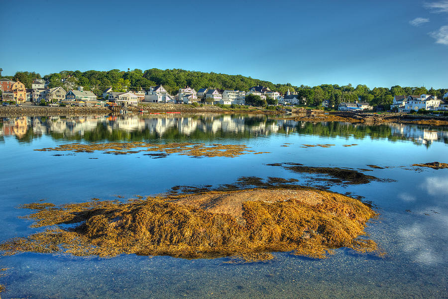 Boothbay Harbor Photograph - Boothbay Harbor by Ron St Jean