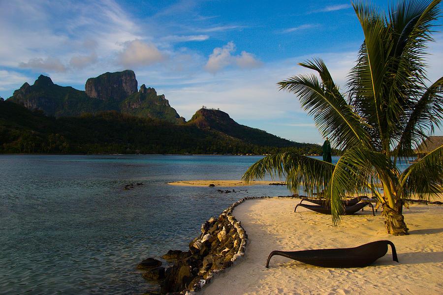 Beach Photograph - Bora Bora Beach by Benjamin Clark