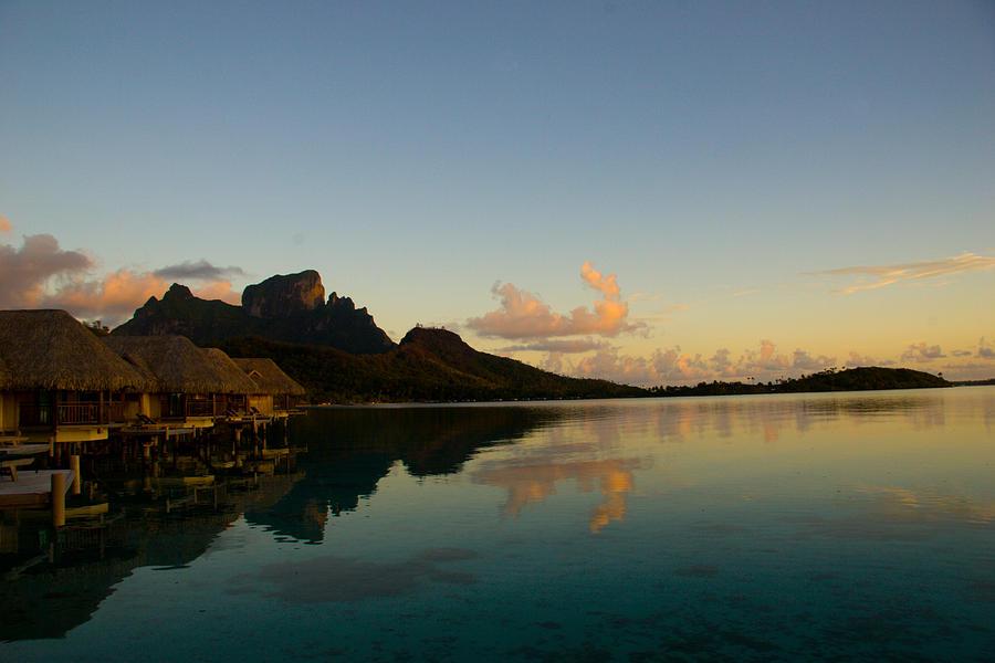 Bora Bora Photograph - Bora Bora Dawn by Benjamin Clark