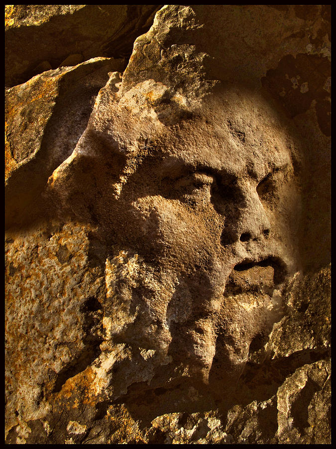 Greek Photograph - Born In Stone 3 by Algis Kemezys