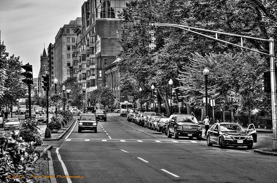 Boston Photograph - Boston City Scape by Dan Crosby