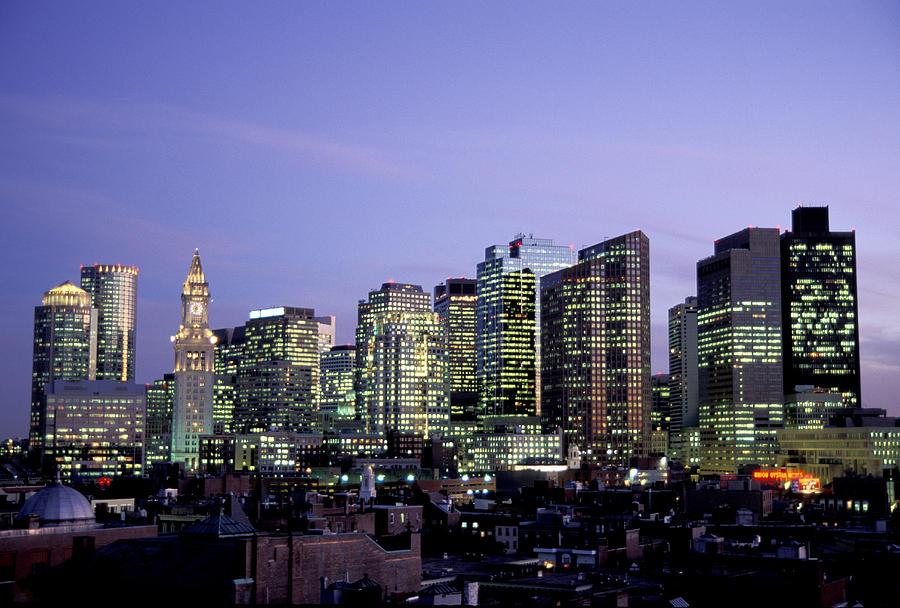Boston Massachusetts Skyline Photograph By Richard Nowitz