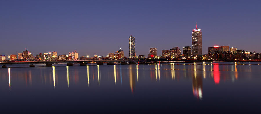 Boston Photograph - Boston Panoramic View by Juergen Roth
