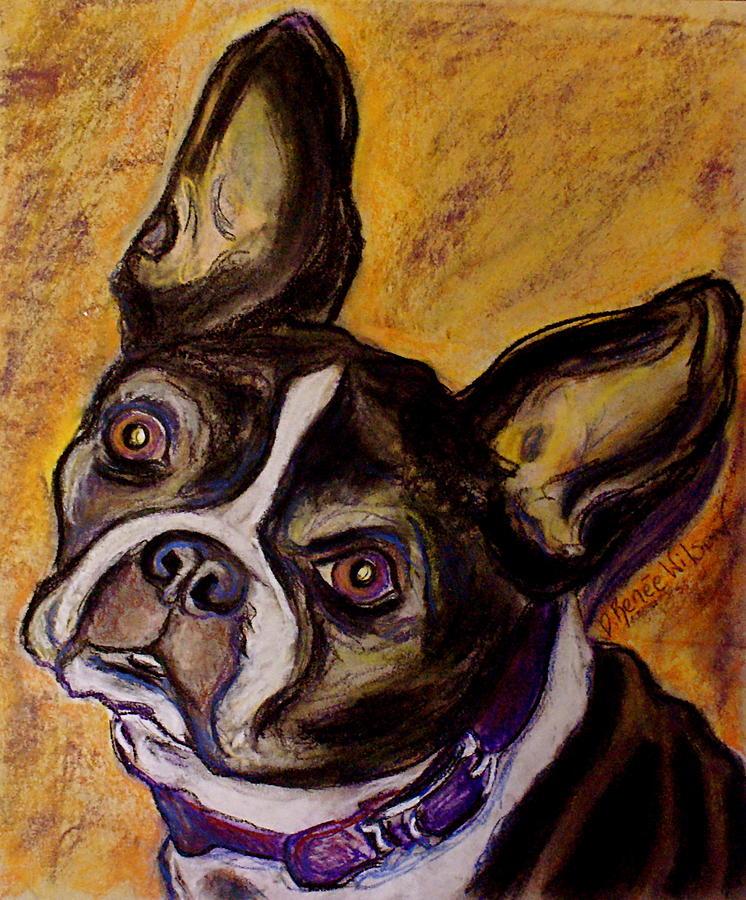 Boston Terrier Painting - Boston Terrier by D Renee Wilson
