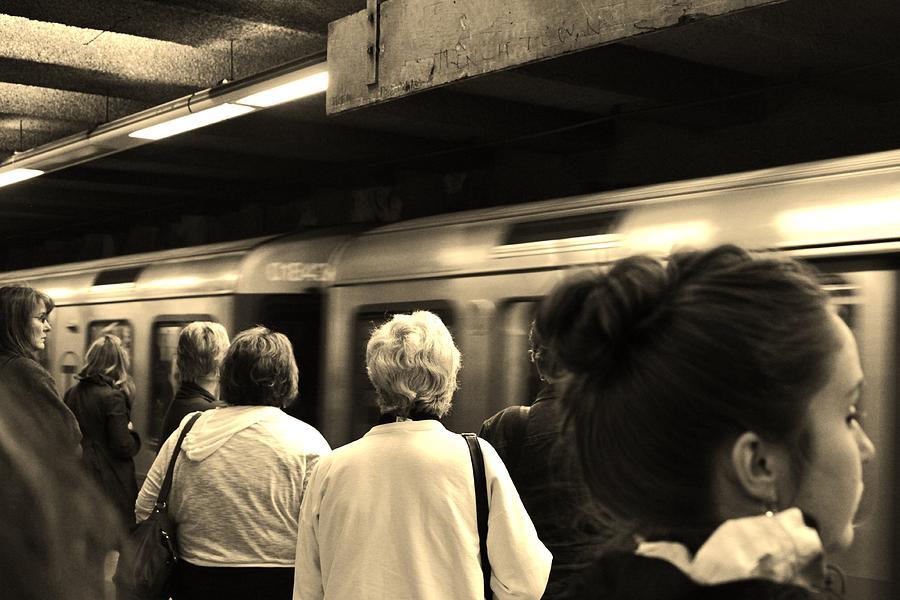 Boston Photograph - Boston Train by Jordan Drapeau