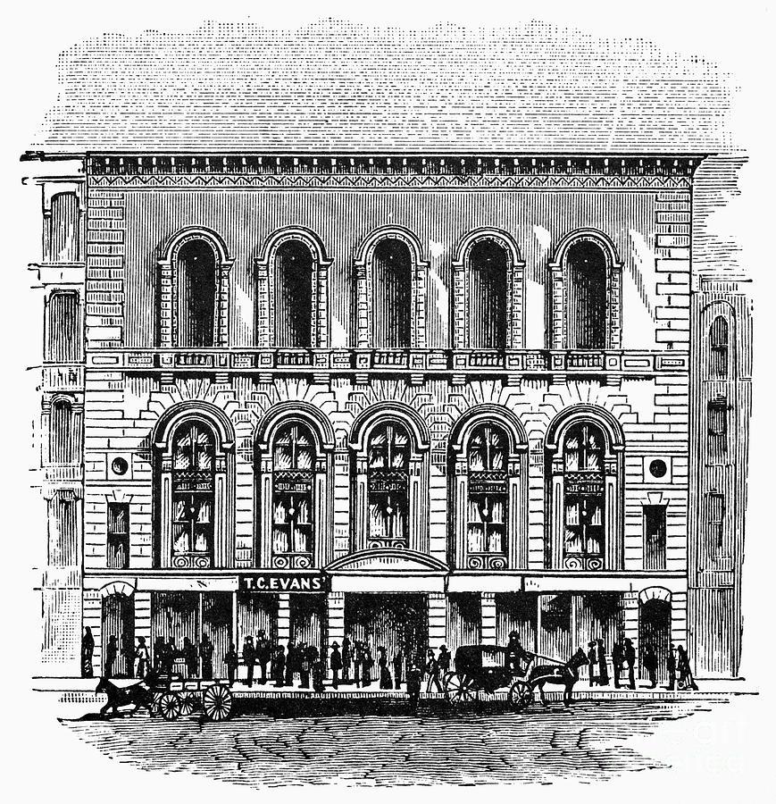 1889 Photograph - Boston: Tremont Temple by Granger