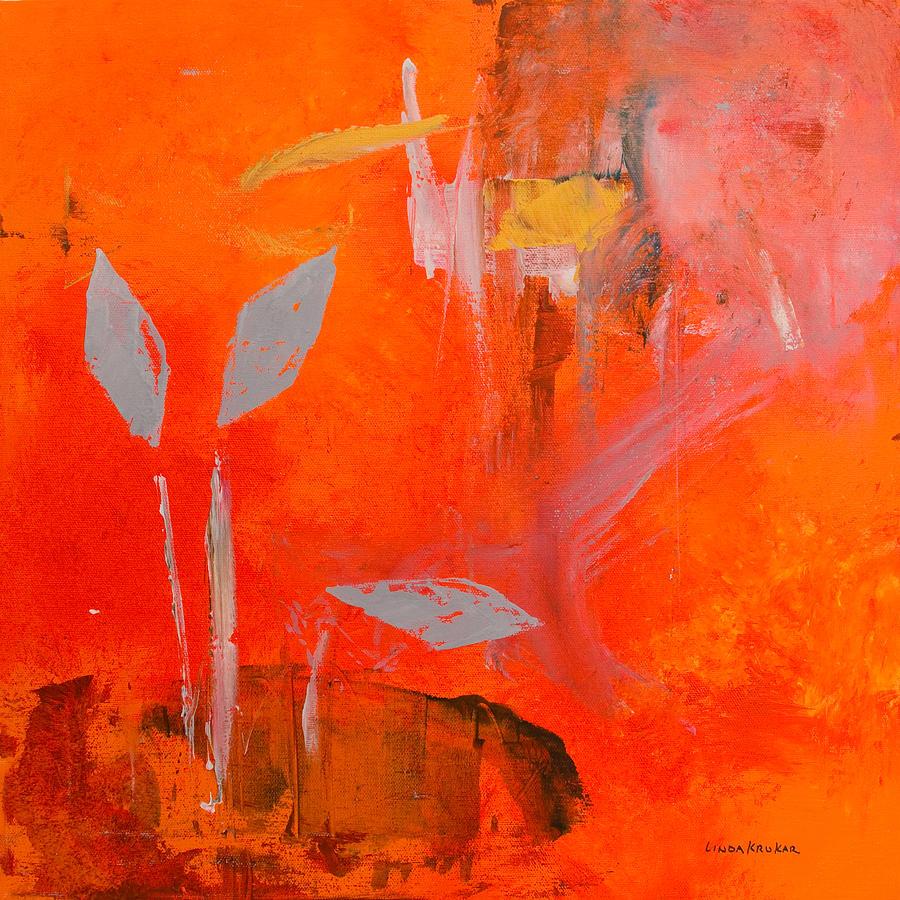 Botanical Painting - Botanica 1 by Linda Krukar
