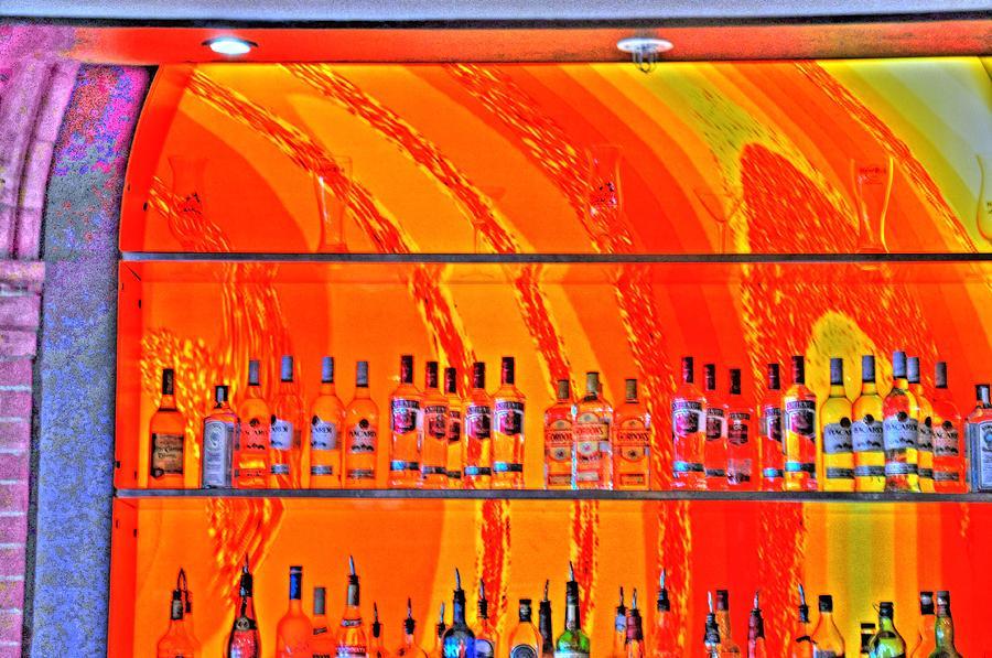 Malmo Digital Art - Bottles by Barry R Jones Jr