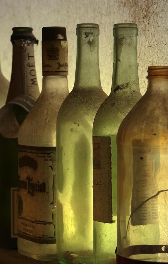 Bottles Digital Art - Bottles Still by Kelly Rader