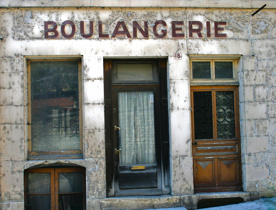 Old Store Photograph - Boulangerie by Georgia Fowler