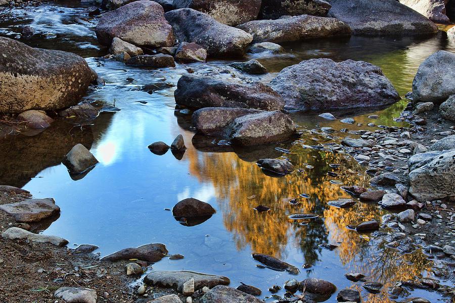 Autumn Photograph - Boulder Creek by Jim Garrison
