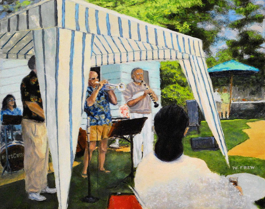 Boulder Lovers of Jazz Summer party by William Frew
