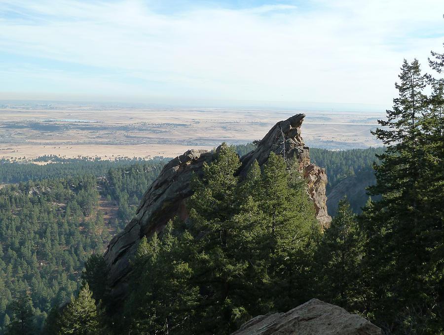 Ncar Digital Art - Boulder Point by Bill Kennedy