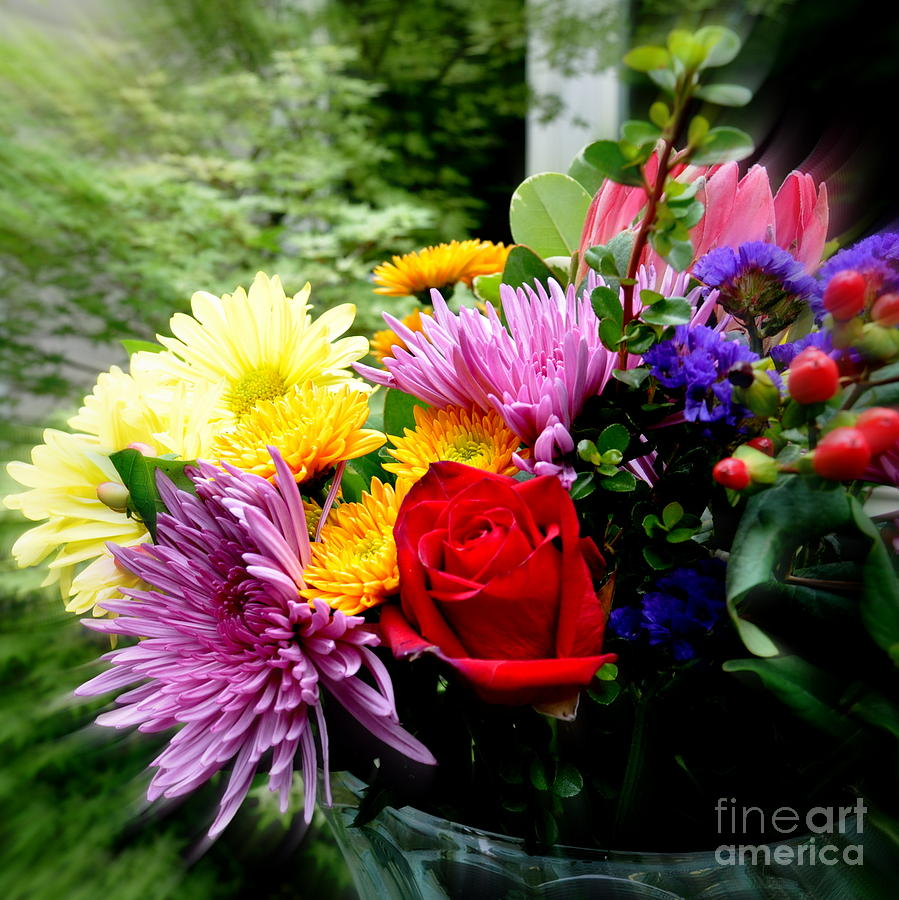 Bouquet Photograph - Bouquet  2 by Tanya  Searcy