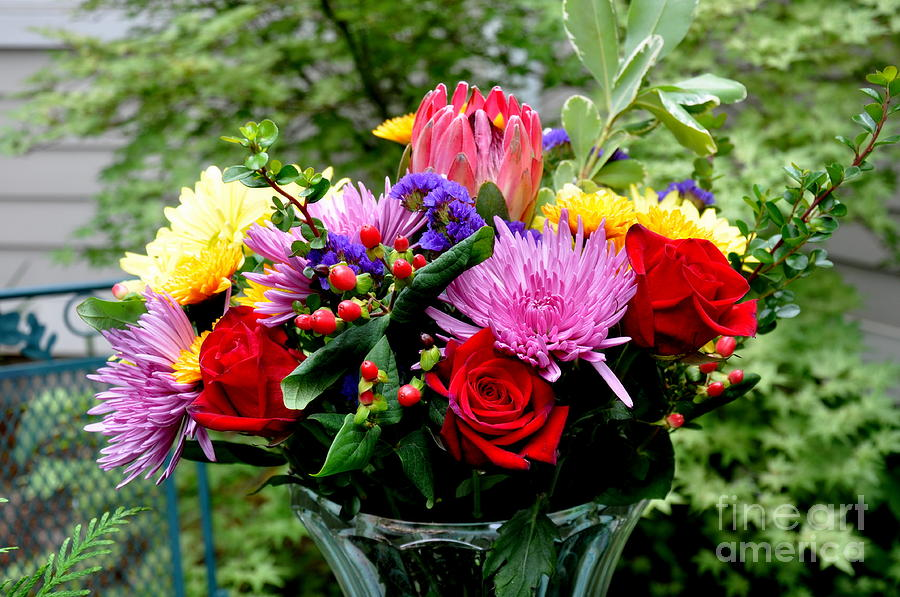 Bouquet Photograph - Bouquet  3 by Tanya  Searcy