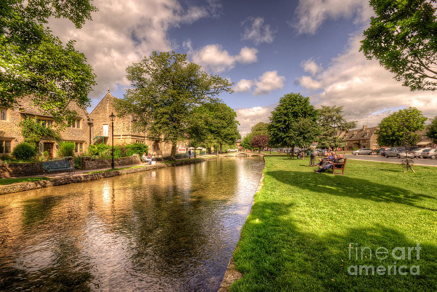 Bourton Photograph - Bourton On The Water by Rob Hawkins