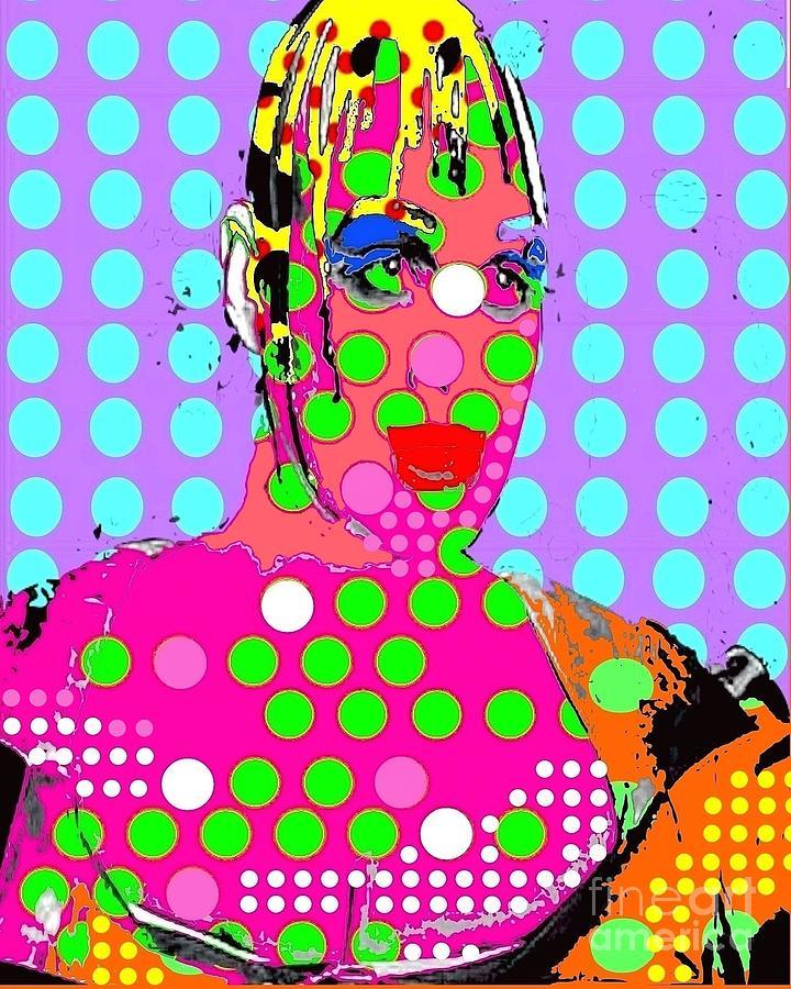 Leigh Bowery Digital Art - Bowery by Ricky Sencion
