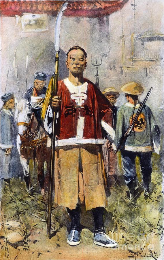 1900 Photograph - Boxer Rebellion, 1900 by Granger