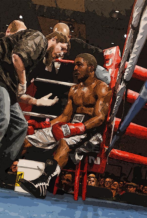 Boxer Digital Art - Boxer by Wade Aiken