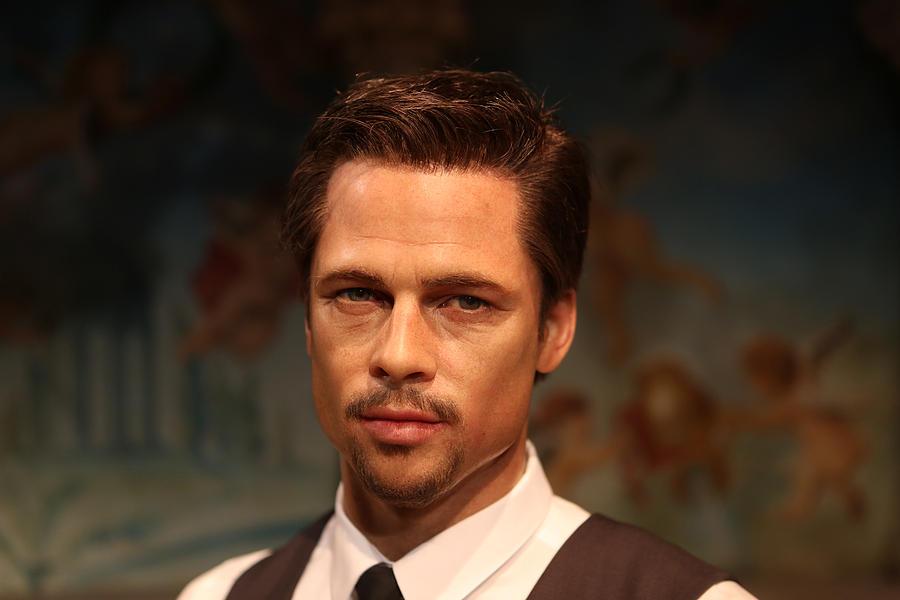Actor Photograph - Brad Pitt - William Bradley Brad Pitt - Actor-  by Lee Dos Santos