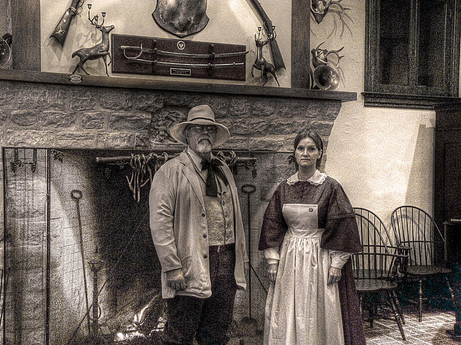 Clara Barton Photograph - Brady And Barton by William Fields