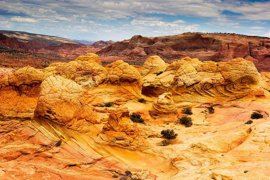 Canyon Photograph - Brain Rocks by Francesco Riccardo  Iacomino