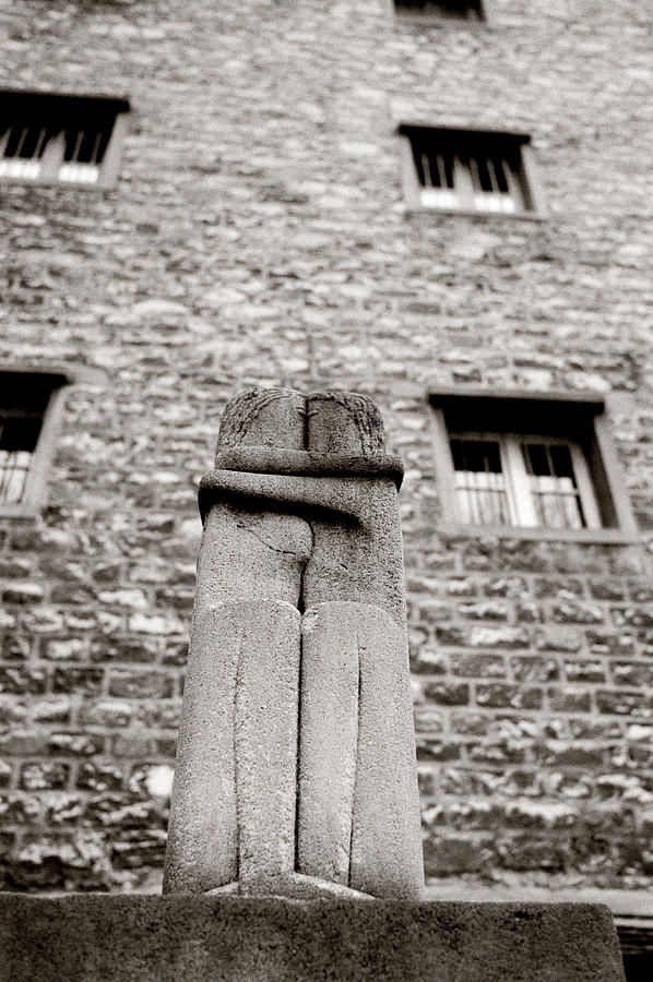 Love Photograph - Brancusi The Kiss  by Shaun Higson