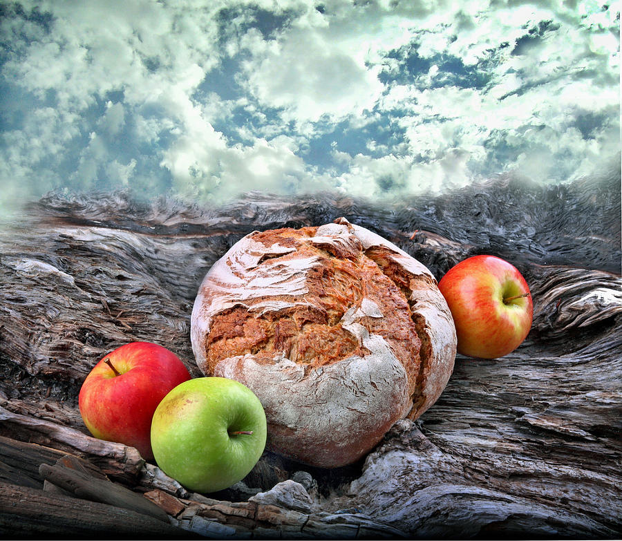 Bread Photograph - Bread Of The World by Manfred Lutzius
