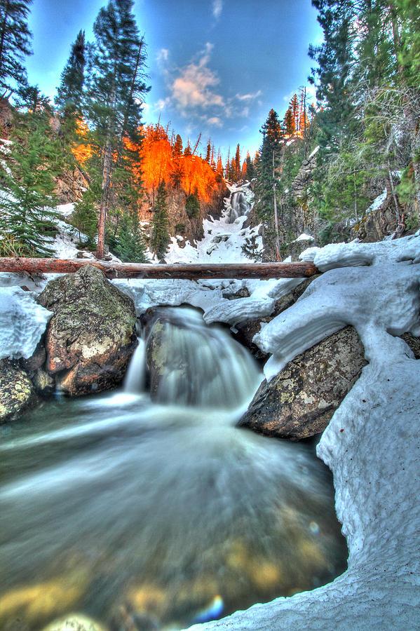 Waterfall Photograph - Break On Through by Scott Mahon
