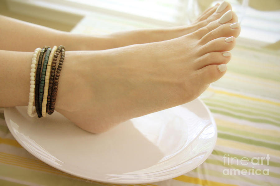 Feet Photograph - Breakfast At Tiffanys 2 by Tos Photos