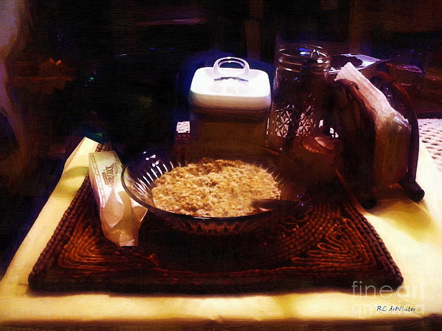 Breakfast Painting - Breakfast Of Champions by RC DeWinter