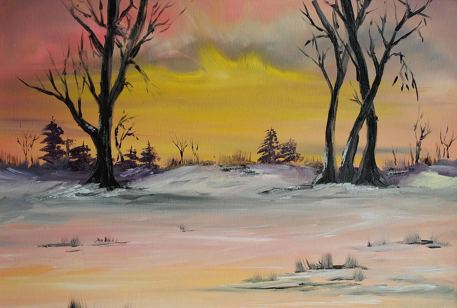 Landscape Painting - Breaking Dawn by James Higgins