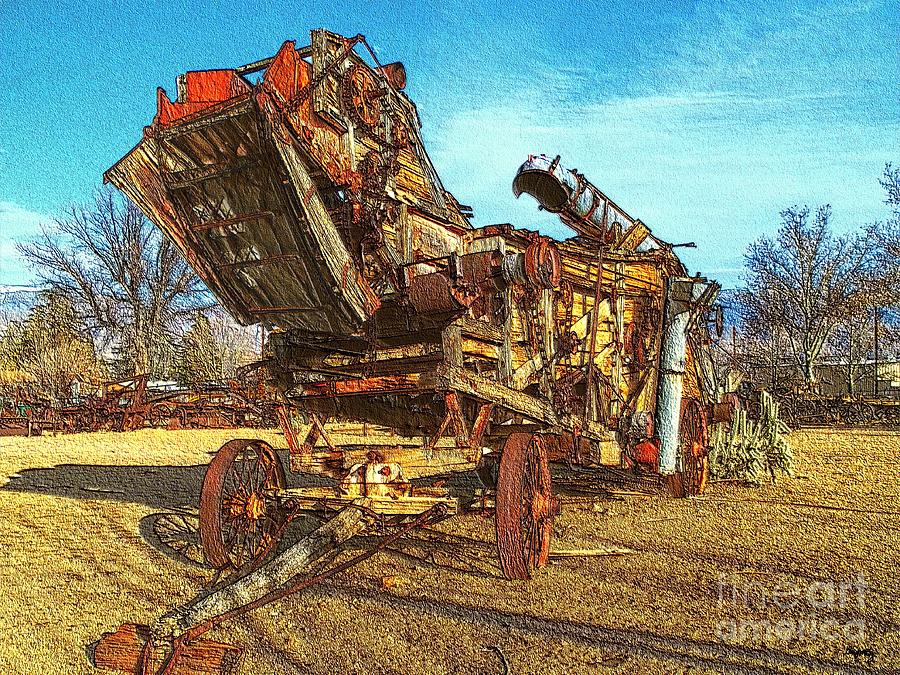 Wood Chipper Photograph - Breaking Things Down by Glenn McCarthy Art and Photography
