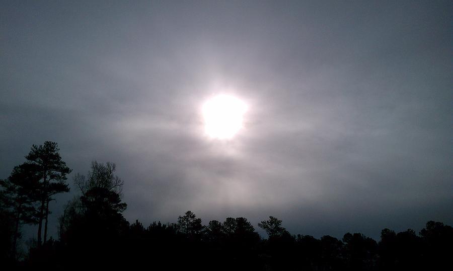 Sun Pyrography - Breakthrough by Iris Ramirez Reese