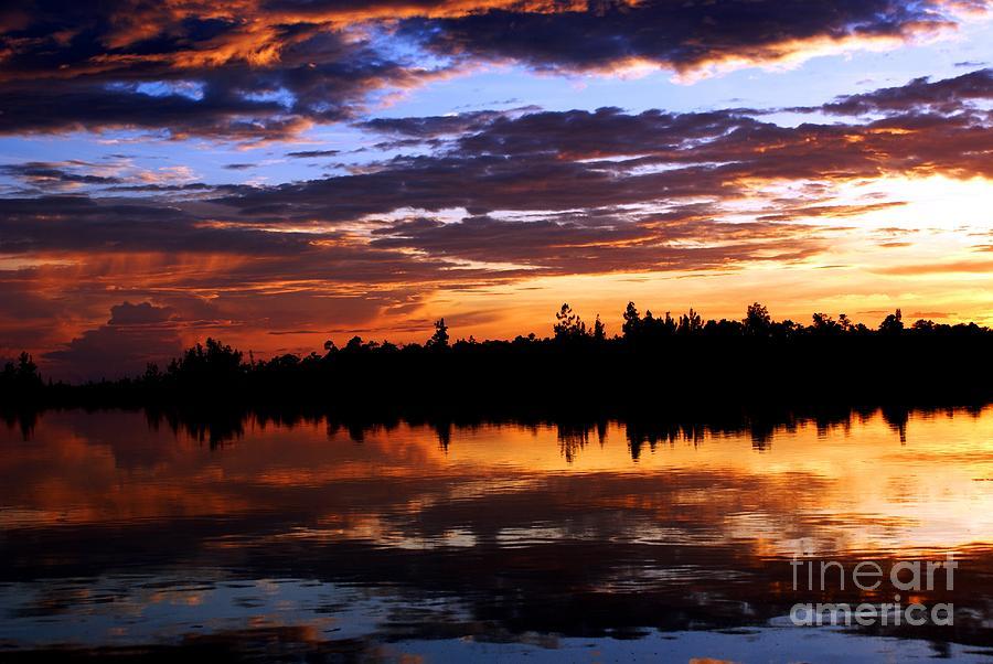 Landscape Photograph - Breathtaking Sunset by Luis and Paula Lopez