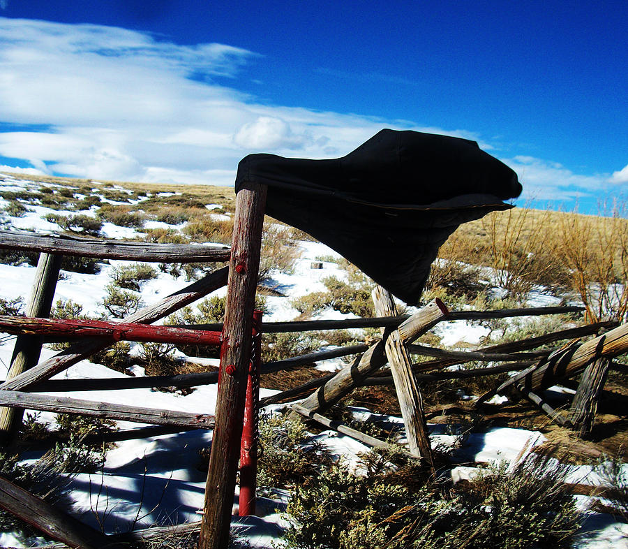 Wyoming Photograph - Breezy Day by Wesley Hahn