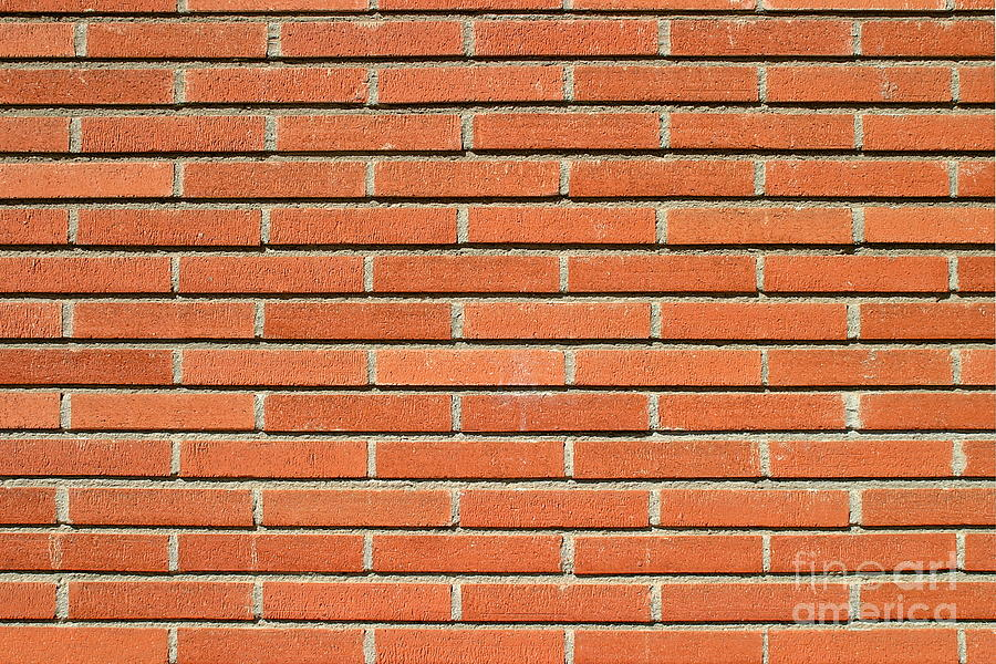 Bricks Wall Photograph By Henrik Lehnerer