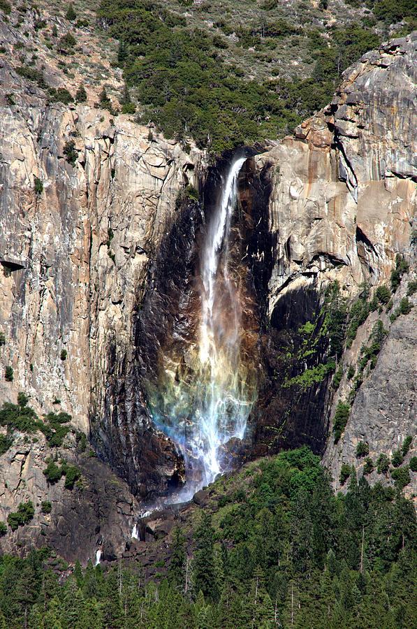 California Photograph - Bridal Veil Falls by Tina Karle