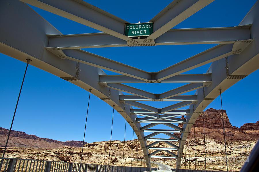 Bridge Photograph - Bridge Across Colorado by Scotts Scapes